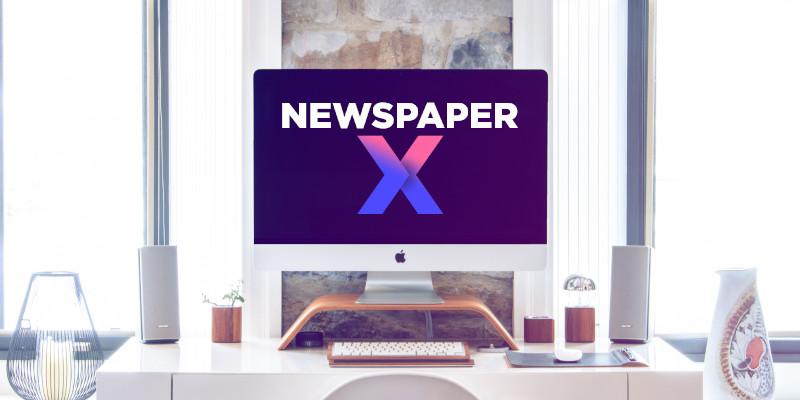 Newspaper x premium theme   wp premium theme also download